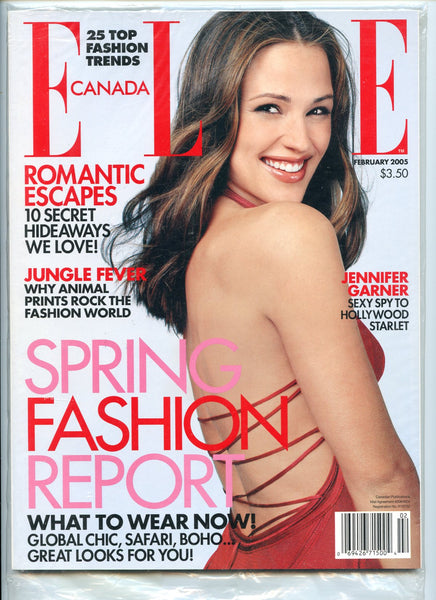 JENNIFER GARNER 2005 Elle Canada Magazine 44 ELEKTRA ALIAS MIB!! Mint in Bag