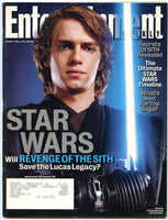 HAYDEN CHRISTENSEN Entertainment Weekly Magazine 820 Star Wars Sith