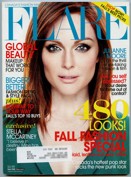 JULIANNE MOORE 2008 FLARE Magazine MIB Mint in Bag! Dragonette