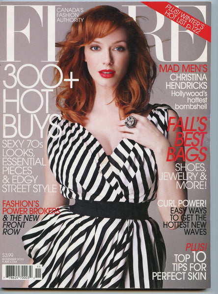 CHRISTINA HENDRICKS Mad Men November 2010 FLARE Magazine