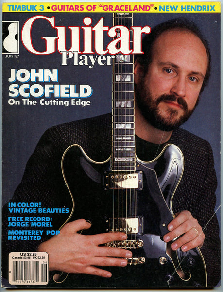 JOHN SCOFIELD June 1987 Guitar Player Magazine Jorge Morel Timbuk3