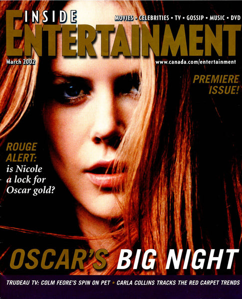 Nicole Kidman PREMIERE ISSUE 2002 Inside Entertainment Magazine
