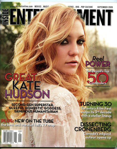 KATE HUDSON David Cronenberg JAKE GYLLENHAAL 2005 Inside Entertainment Magazine