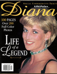 PRINCESS DIANA 1998 Lifestyle of the Rich & Famous Magazine Special Tribute