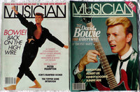 David Bowie Lot 2: Musician Magazine May 1983 + August 1987