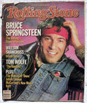 BRUCE SPRINGSTEEN 1984 Rolling Stone Magazine 436
