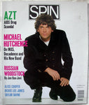 MICHAEL HUTCHENCE INXS November 1989 Spin Magazine + RS Clippings