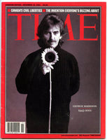 GEORGE HARRISON December 2001 Time Magazine