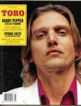 BARRY PEPPER Leslie Feist TORO Magazine March 2004