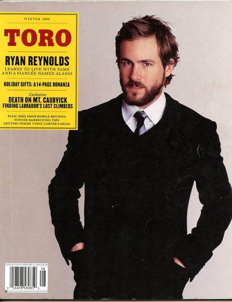 RYAN REYNOLDS Canadian TORO Magazine 2004