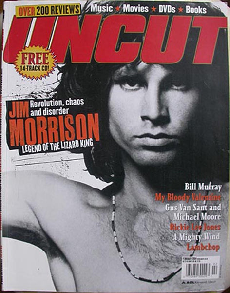 JIM MORRISON February 2004 UNCUT Magazine 81