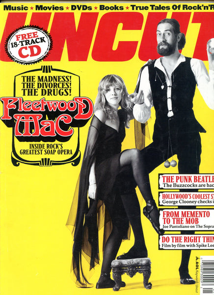 FLEETWOOD MAC May 2003 UNCUT MAGAZINE Take 72