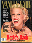 Bette Midler December 1991 Vanity Fair Magazine