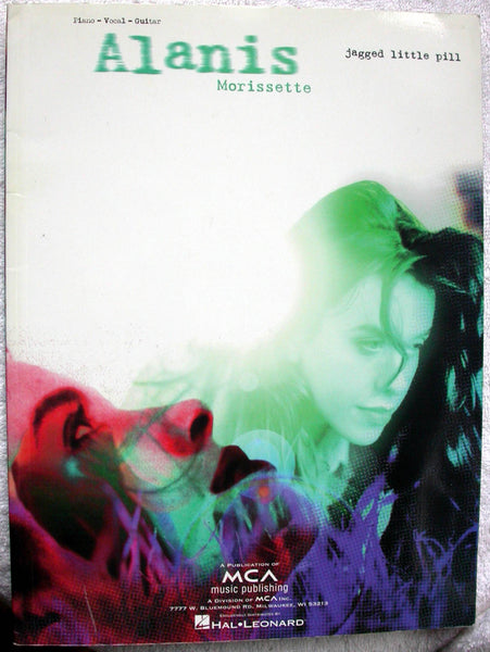 ALANIS MORISSETTE Jagged Little Pill Songbook