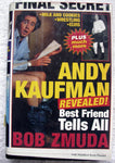 ANDY KAUFMAN Revealed Best Friend Tells All by Bob Zmuda 1st Edition