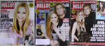 Avril Lavigne Chad Kroeger Weddin Lot 3 2013 Hello Canada Magazines