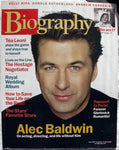 ALEC BALDWIN June 2001 A&E Biography Magazine