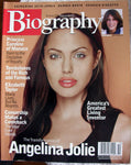 ANGELINA JOLIE October 2003 A&E Biography Magazine