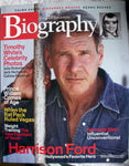 HARRISON FORD June 2003 A&E Biography Magazine Prince William Rat Pack Keanu