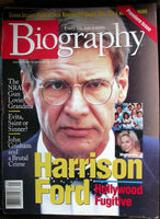 HARRISON FORD January 1997 A&E Biography Magazine Grant Hill Kevorkian