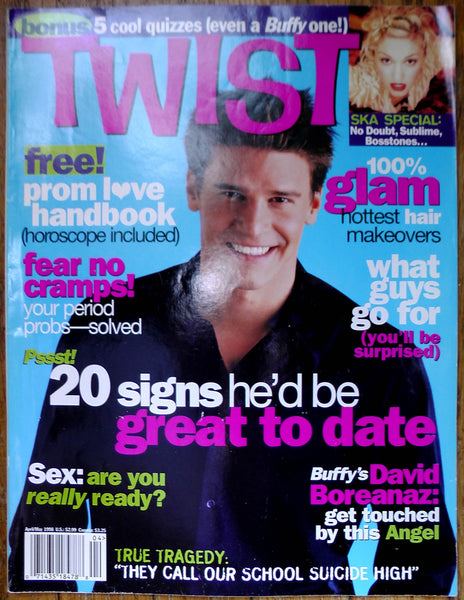 David Boreanaz May 1988 TWIST Magazine