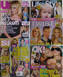 Britney Spears Lot 5 Magazines: Us Weeky TWIST OK! Life & Style