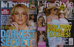 Britney Spears Lot 2 Magazines: 2008 in touch + 2007 Life & Style