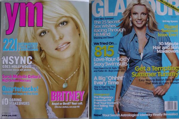 Britney Spears 2001 ym magazine