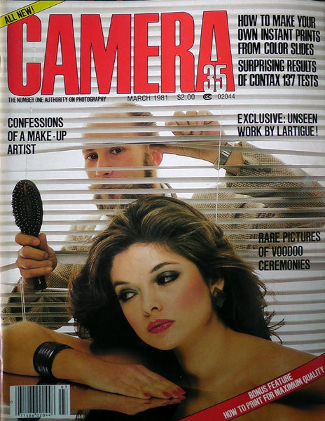 CAMERA 35 Photography Magazine March 1981