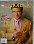 ALEC BALDWIN June 2004 Cigar Aficionado Magazine Queen Mary 2 Brande Roderick