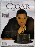 Denzel Washington February 1998 Cigar Aficionado Magazine