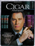 John Travolta February 1999 Cigar Aficionado Magazine