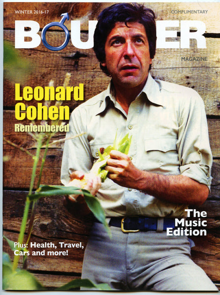Leonard Cohen Obituary December 2016 Canadian Bounder Magazine