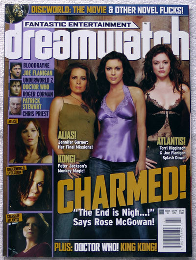 CHARMED Dreamwatch Magazine 16