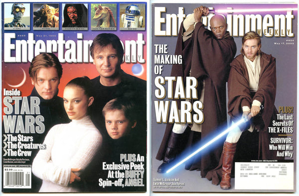 Star Wars Lot 2 Entertainment Weekly Magazines #486 + #654