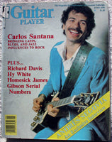 CARLOS SANTANA 1978 Guitar Player Magazine