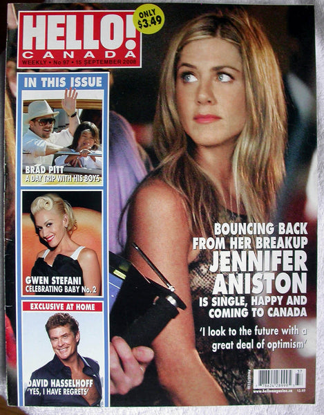 DAVID HASSELHOFF Knight Rider 2008 Hello Canada 97 RYAN GOSLING Aniston MCADAMS