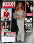 CELINE DION 2011 HELLO Canada Magazine 233 PAUL MCCARTNEY Kate Winslet WILDE