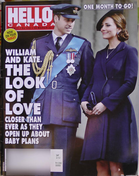 KATE MIDDLETON 2015 HELLO Canada Magazine 440 David Beckham Elizabeth Hurley