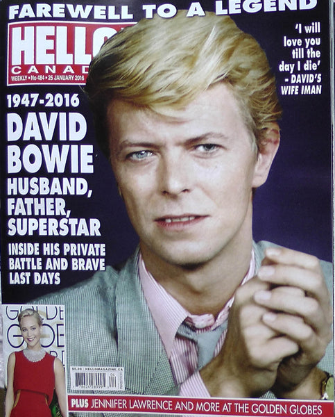 David Bowie Tribute Obituary Iman 2016 Hello Canada Magazine 484 Jennifer Lawrence