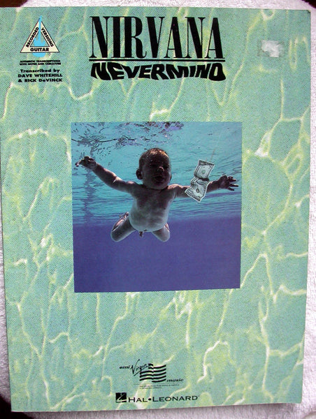 NIRVANA Nevermind Songbook Tablature Vocal Guitar