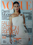 DEMI MOORE Cover July 2003 VOGUE Magazine Helmut Newton Kate Hudson Kidman