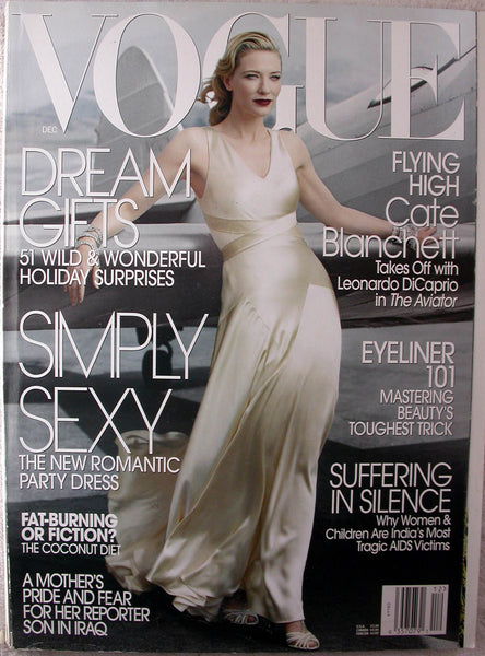 CATE BLANCHETT December 2004 VOGUE