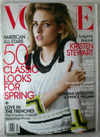 KRISTEN STEWART February 2011 VOGUE Magazine KATE MIDDLETON South Park Twilight