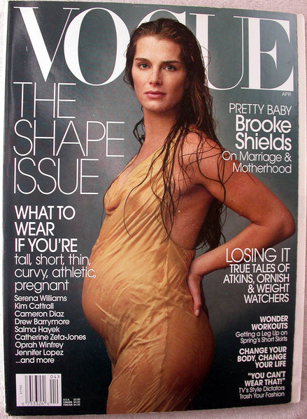 BROOKE SHIELDS April 2003 Vogue Magazine