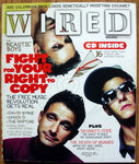 BEASTIE BOYS November 2004 WIRED Magazine + CD David Byrne Chuck D