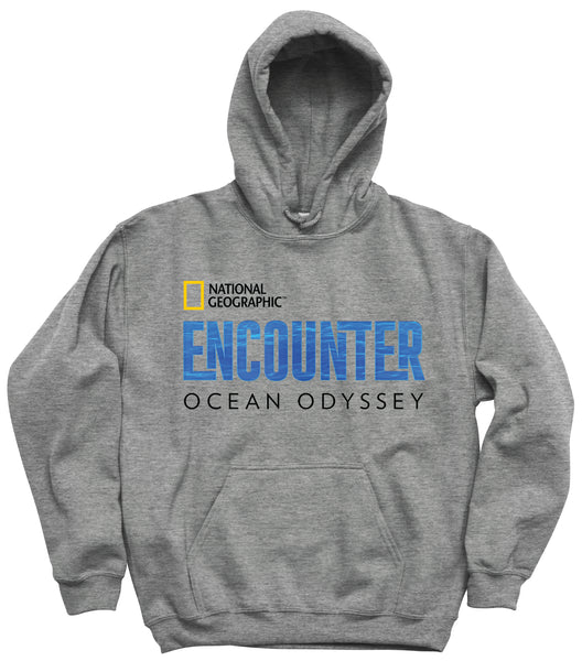 Hooded National Geographic Encounter Sweatshirt Grey