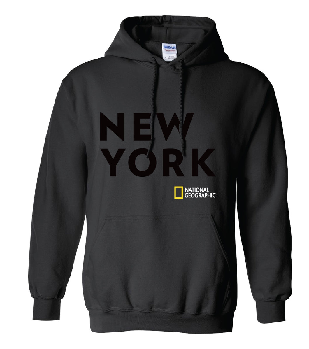 New York Bold  Adult Hooded Sweatshirt