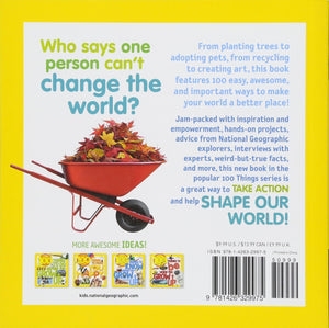 Nat Geo Kids 100 Ways to Make the World Better