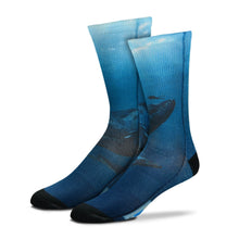 Sublimated Whale Dive Socks